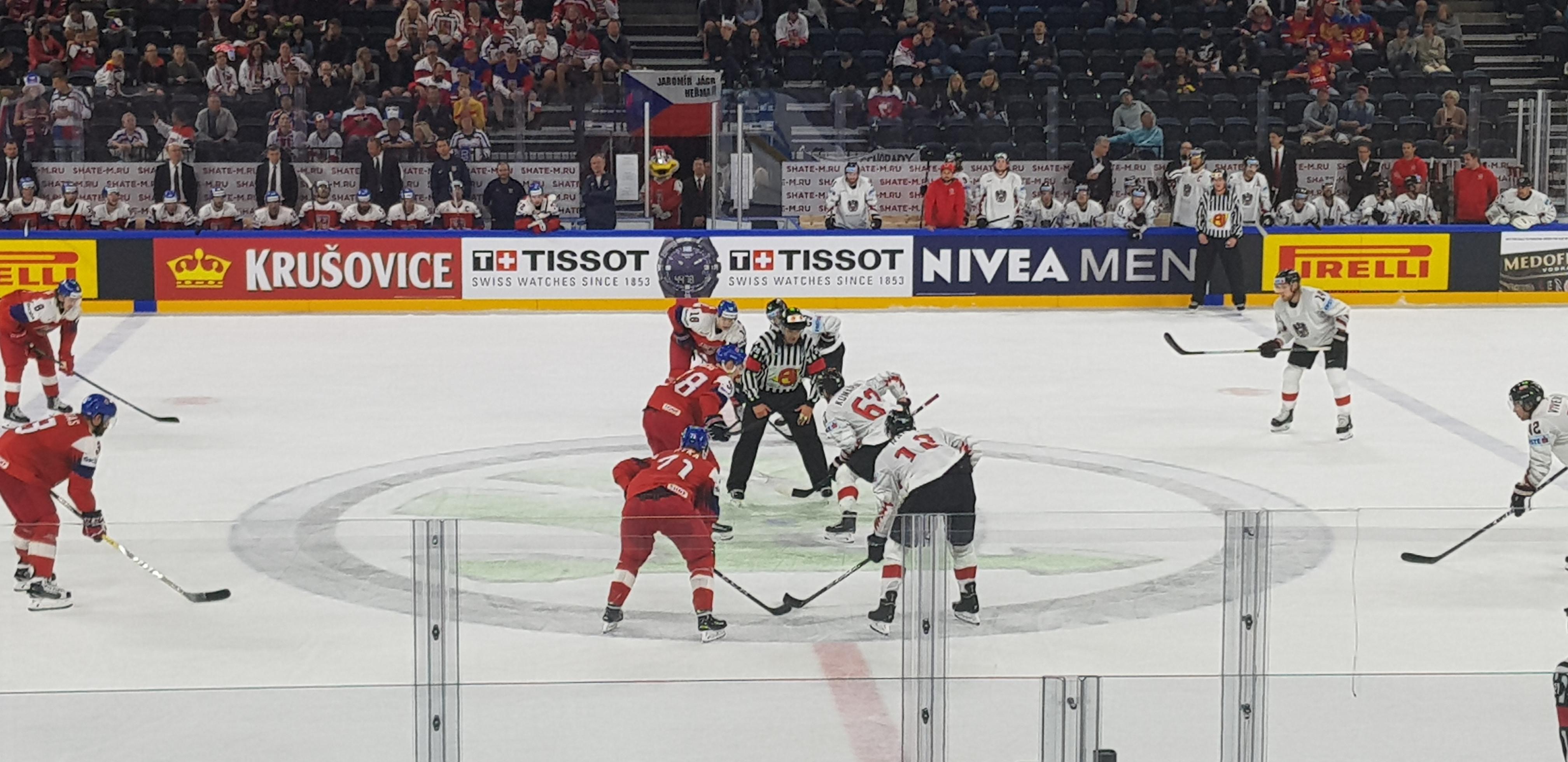 Eishockey WM in Bratislava